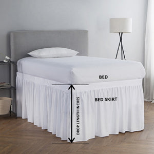 Bed Skirt Drop length