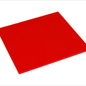 Blood Red Flat Sheet Solid Sateen Comfy