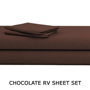 Chocolate RV Sheet Set