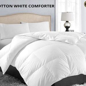 Cotton White Comforter