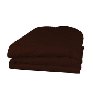 Chocolate twin xl comforter set