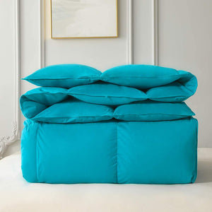 Cotton Turquoise Comforter