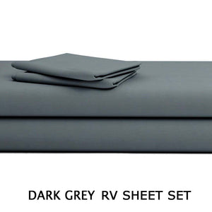 Dark grey RV Sheet Set