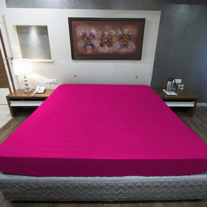 Hot Pink Stripe Fitted Sheet