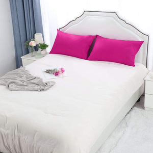 Hot pink pillowcase