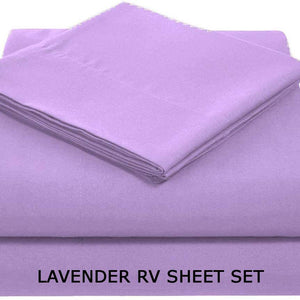 Lavender RV Sheet Set