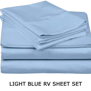 Light Blue RV Sheet Set