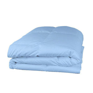 light blue comforter twin