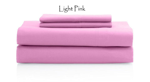 Comfy Sateen Fitted Sheet Stripe Pink - aanyalinen