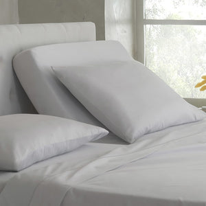Light grey top split sheets