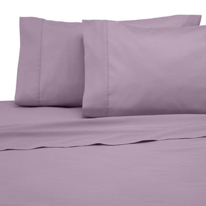 Lilac Flat Sheet with Pillowcase