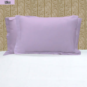 Pillowshams Solid Comfy Sateen Lilac