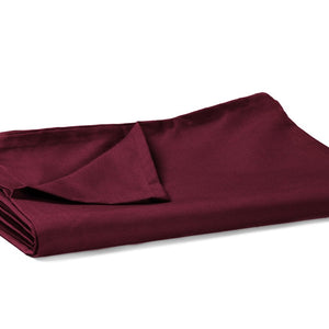 Flat Sheet Solid Sateen Comfy Wine
