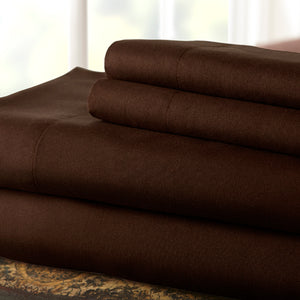Chocolate Top Split Sheet Set