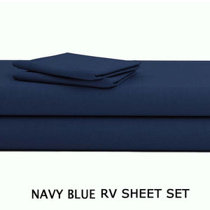 NAVY BLUE RV Sheet Set
