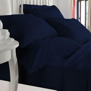Navy Blue Bed in a Bag
