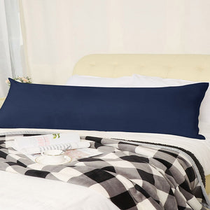 Navy blue body pillow