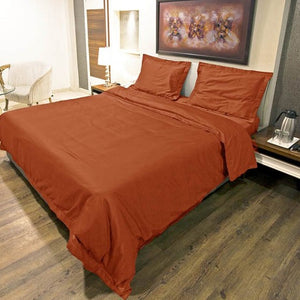 Orange Duvet Cover Set