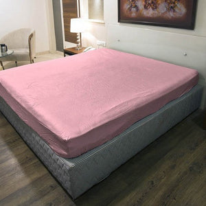 Pink Fitted Sheet