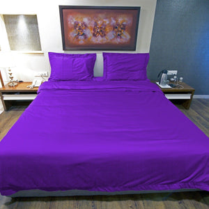Purple Duvet Cover Set
