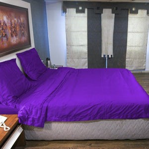 Purple duvet cover sets