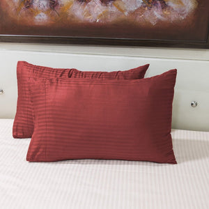 Red Stripe Pillowcase