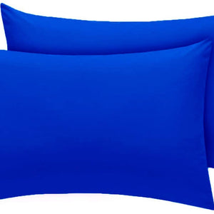 Royal blue pillow cases