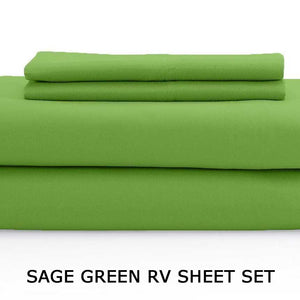 sage green RV Sheet set