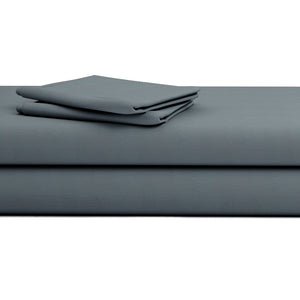 Dark Grey Sateen Bliss Sheets Set
