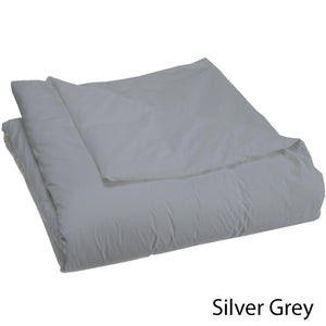 Bliss Duvet Cover Sateen Solid Light Grey