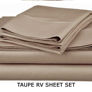 Taupe RV Sheet Set