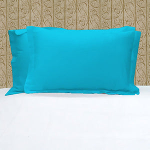 Pillowshams Solid Comfy Sateen Turquoise