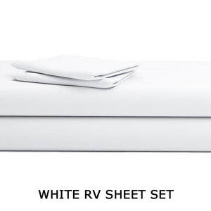 White RV Sheet Set