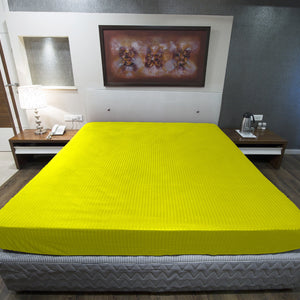 Yellow Stripe Fitted Sheet
