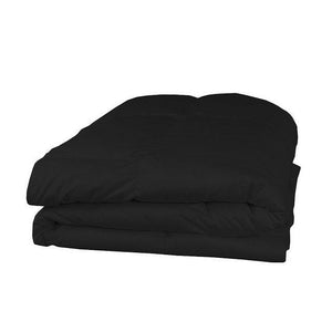 cotton black comforter