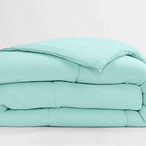 Cotton aqua blue comforter