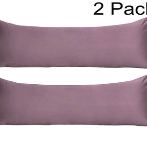 lavender body pillow covers