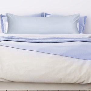 light blue body pillow