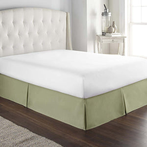 Moss Green Bed Skirt