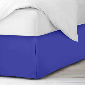 royal blue bedskirt