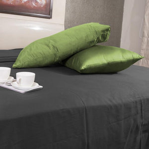 sage green pillow cases