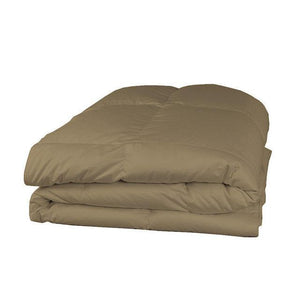 Taupe comforter