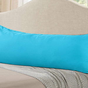 Turquoise body pillow