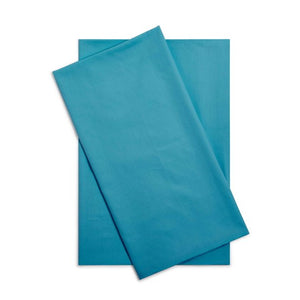 turquoise pillowcase