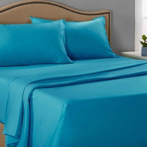 Turquoise pillow cases
