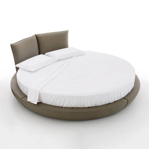 white 84 Round Bed Sheet