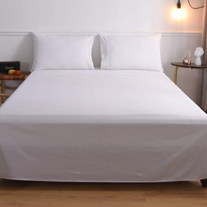white waterbed sheets