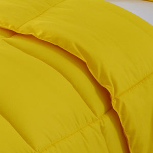 Yellow Cotton Comforter