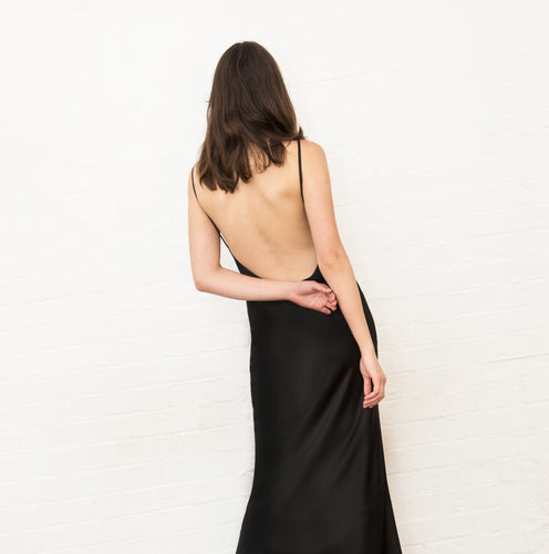 The Madysyn Backless Slip Dress