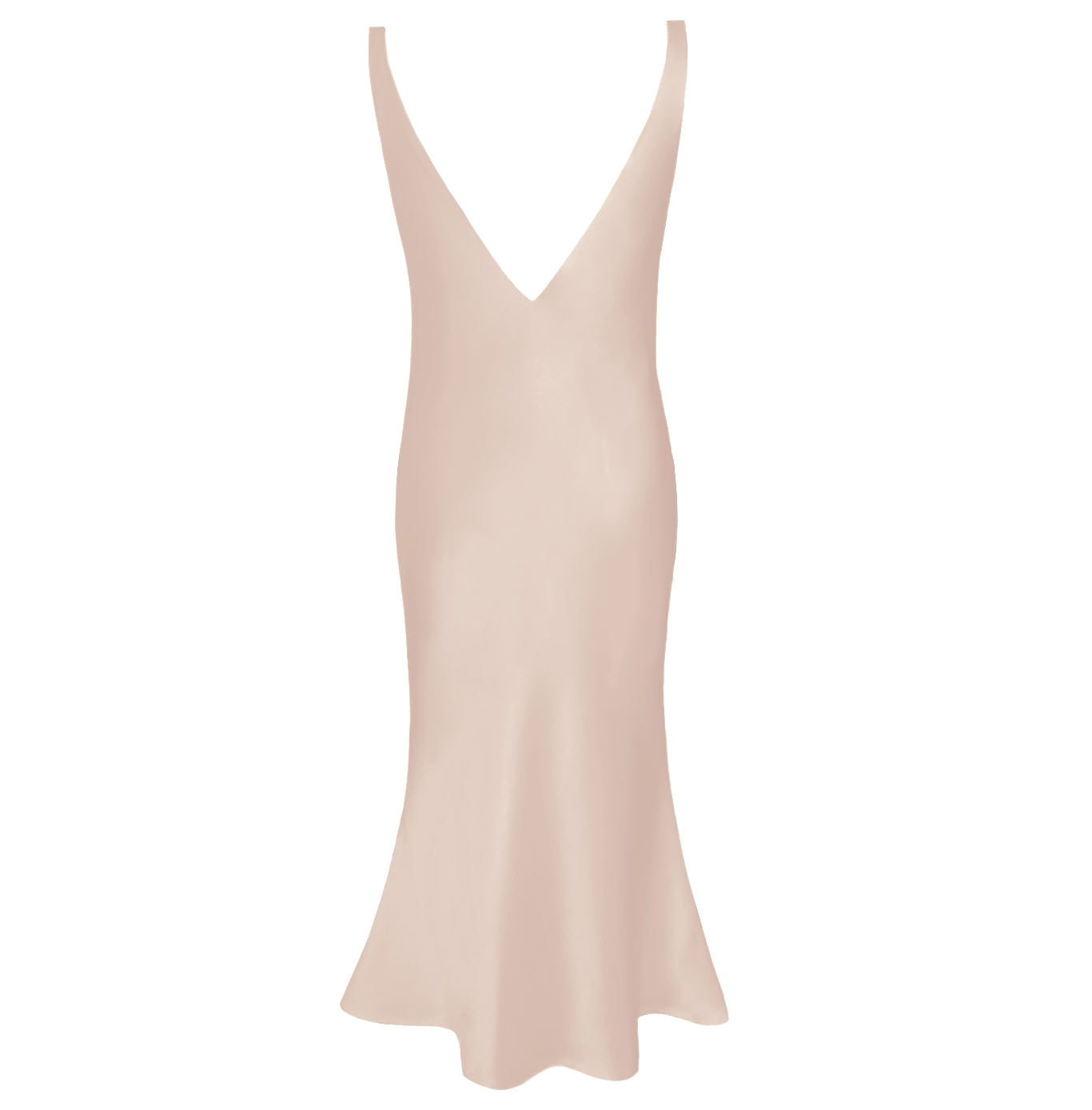 The Eden Deep V Slip Dress